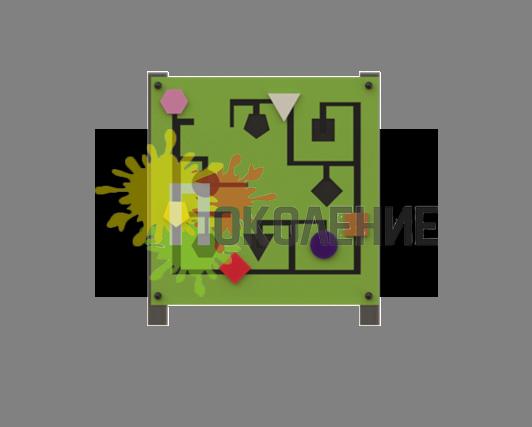 Развивалка Геометрические Фигуры В092