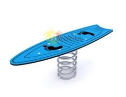 Качели-балансир на пружине Скейт арт.Ф006