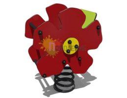 Качалка на пружине Аленький цветочек арт.Ф015