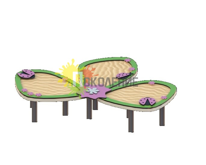 Песочный столик Лепесток арт.В048