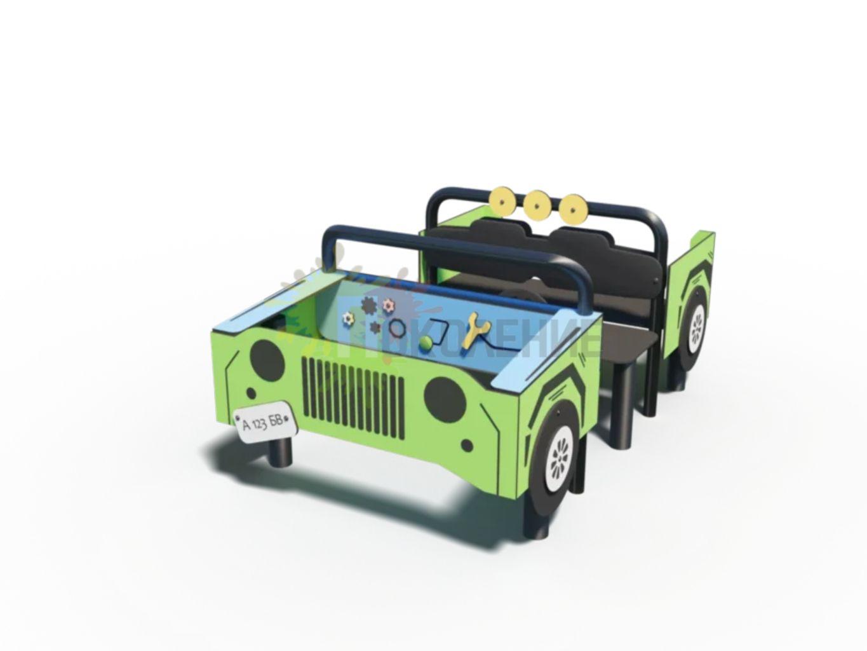 Машинка Джип К016