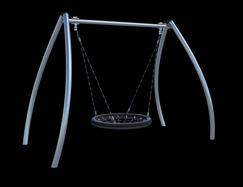Качели-гнездо (цепь из нержавеющей стали) Ф031