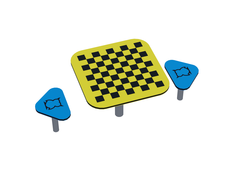 Столик для шахмат Ф079