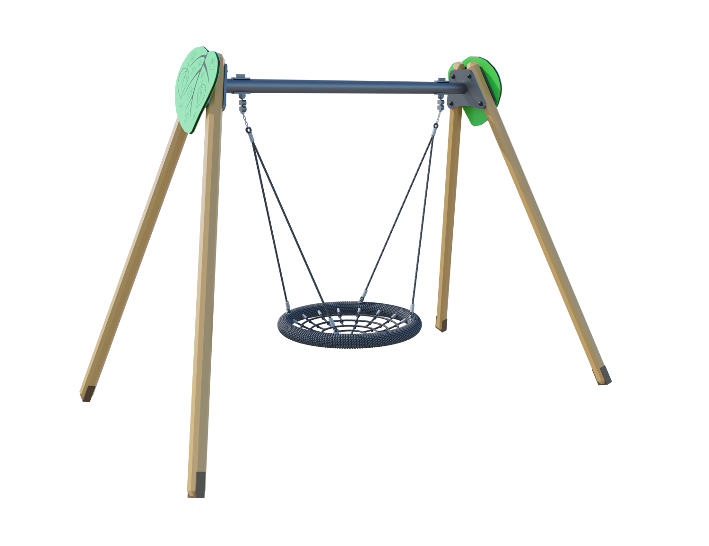 Качели-гнездо (цепь из нержавеющей стали) ЛС016