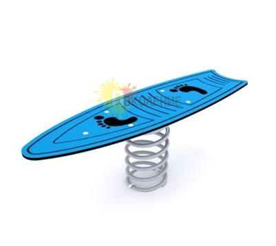 Качели-балансир на пружине Скейт Ф006