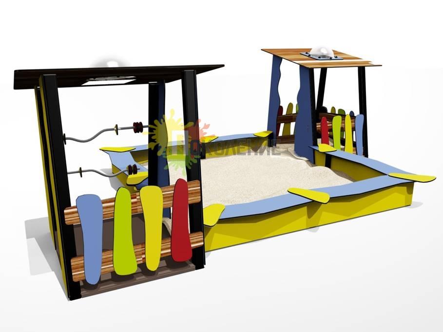 Песочный дворик Ф069