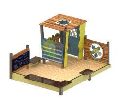 Песочный дворик Ф071
