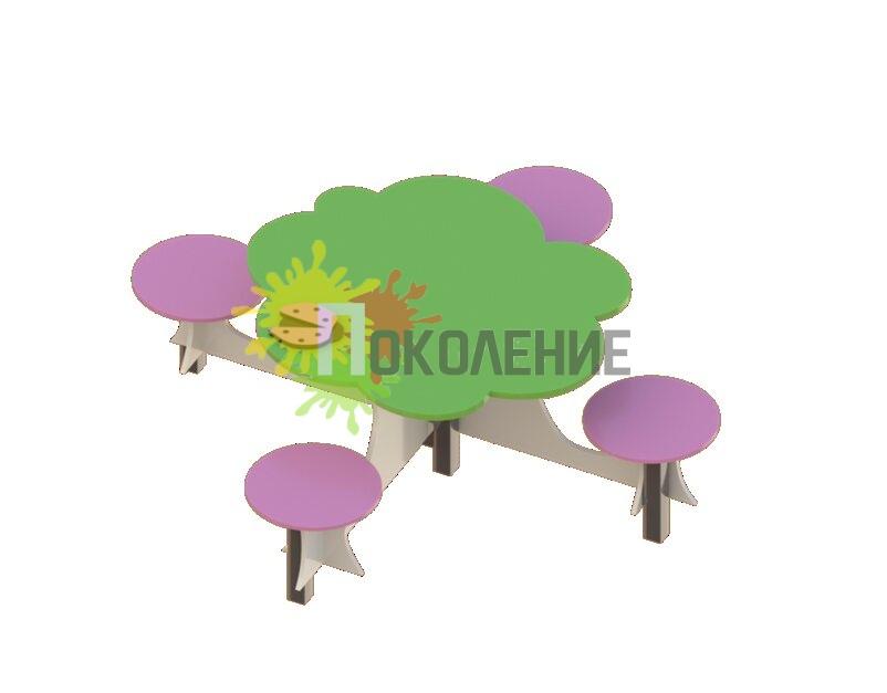 Детский столик В057