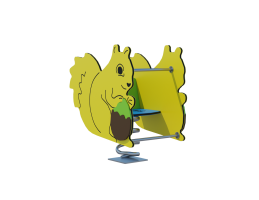 Качалка на пружине «Белка» Ф010
