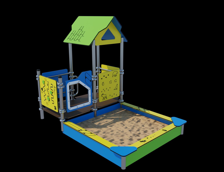 Песочный дворик Ф073
